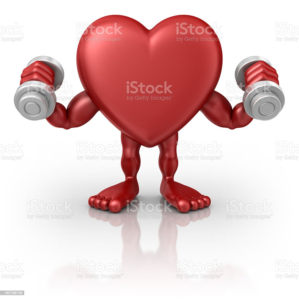 strong heart royalty-free stock photo