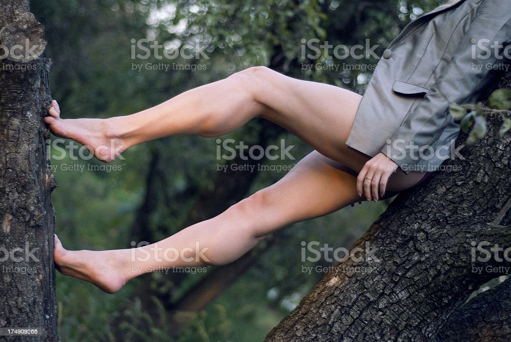 Strong Legs royalty-free stock photo