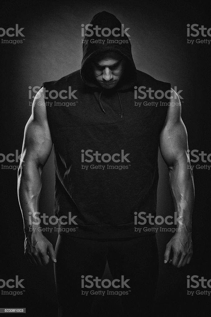Strong Men stock photo