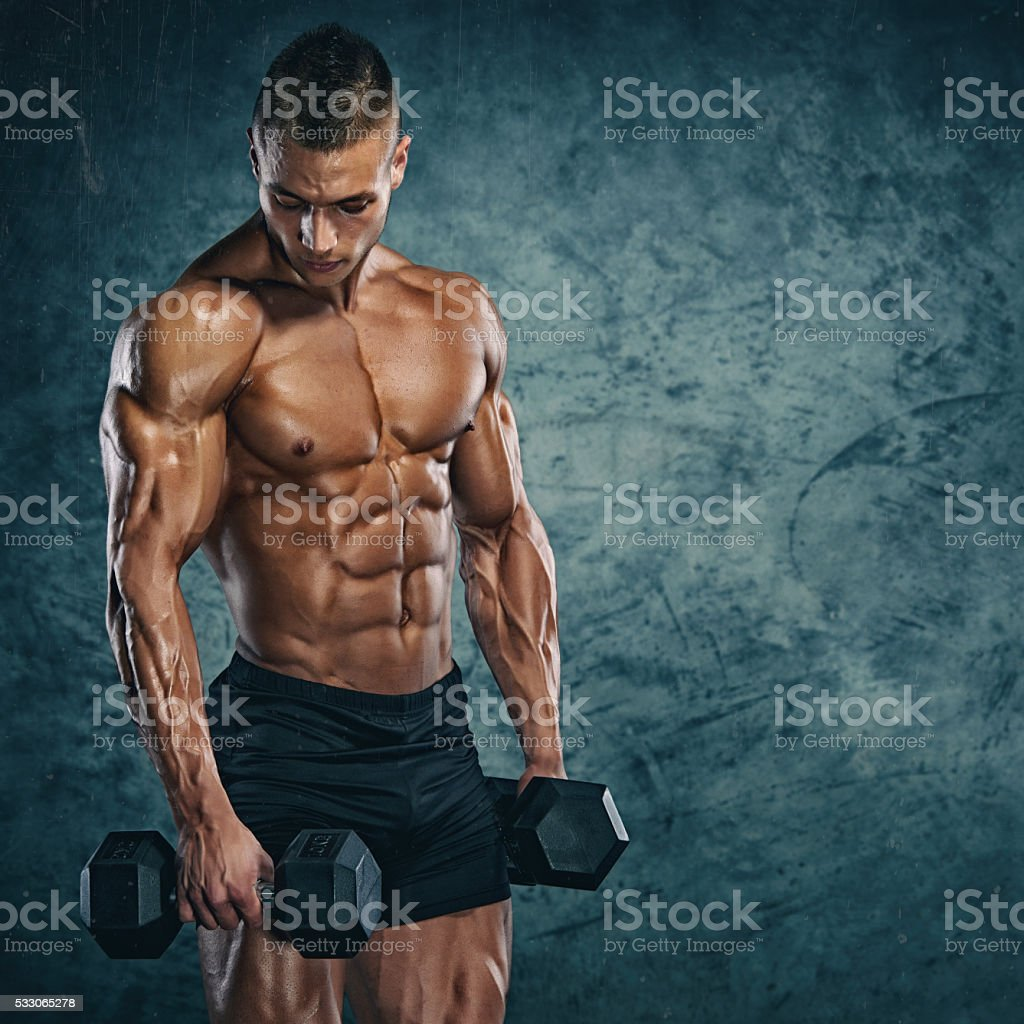 Strong Mind, Strong Body stock photo