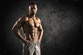 Strong Muscular Men