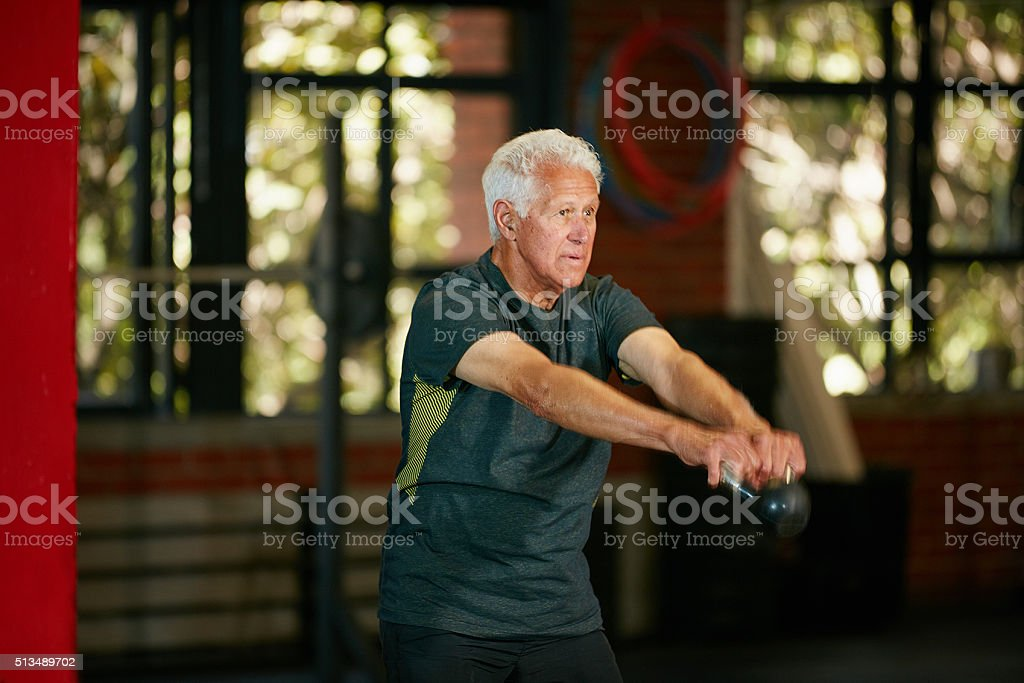 Strong never gets old stock photo
