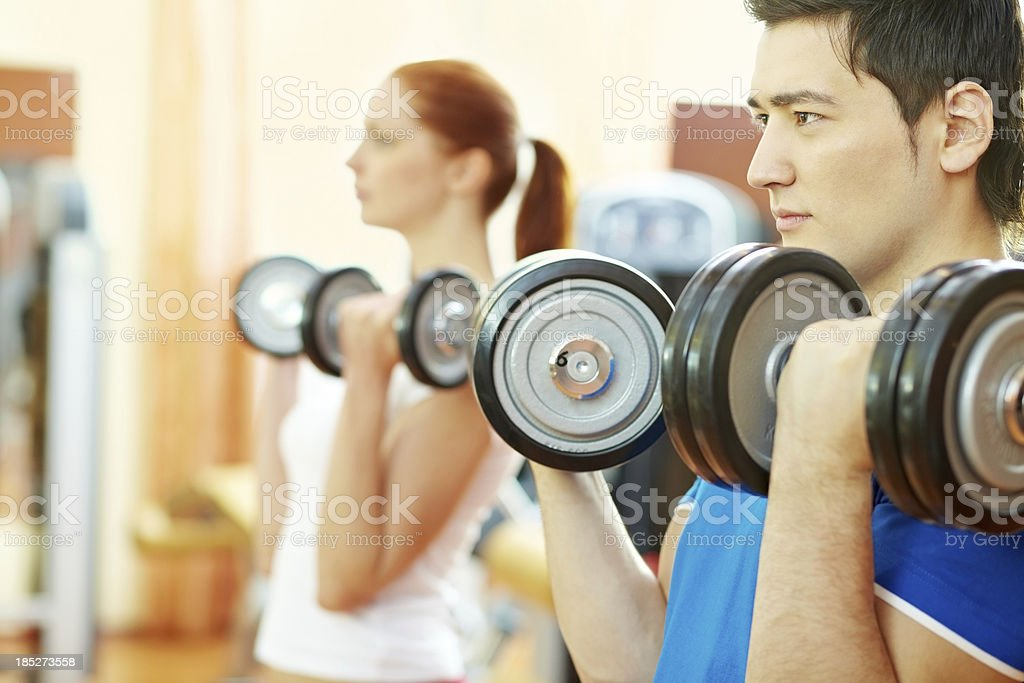 Strong people stock photo