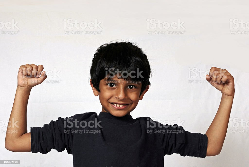 Strong smile royalty-free stock photo