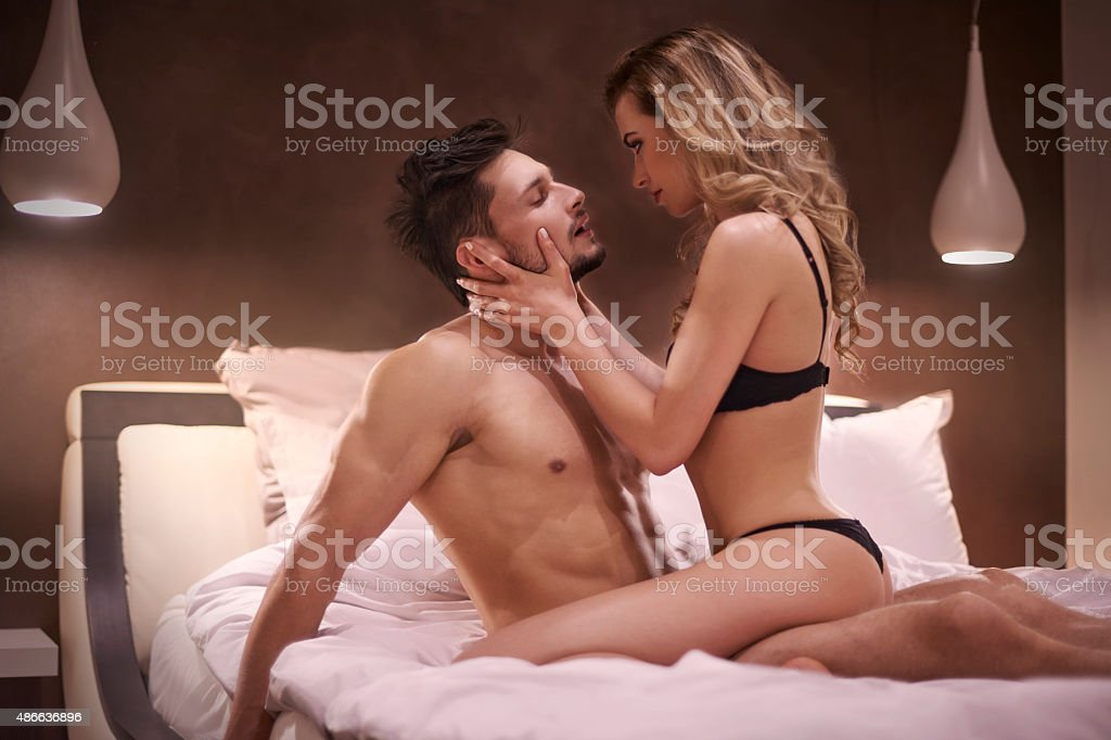 Strong tension between them is very visible stock photo