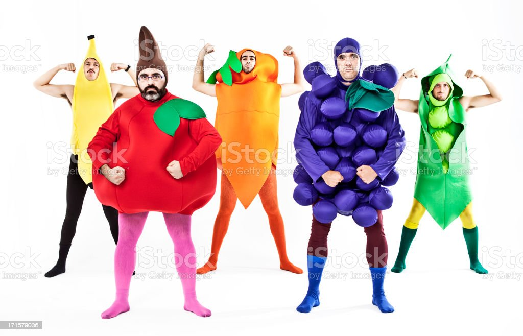 Strong Vegetables royalty-free stock photo