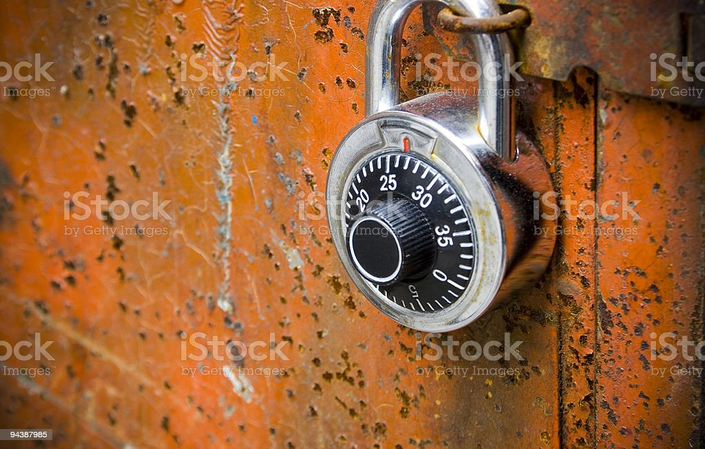 strongbox royalty-free stock photo