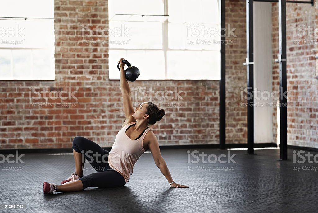 Stronger than yesterday stock photo