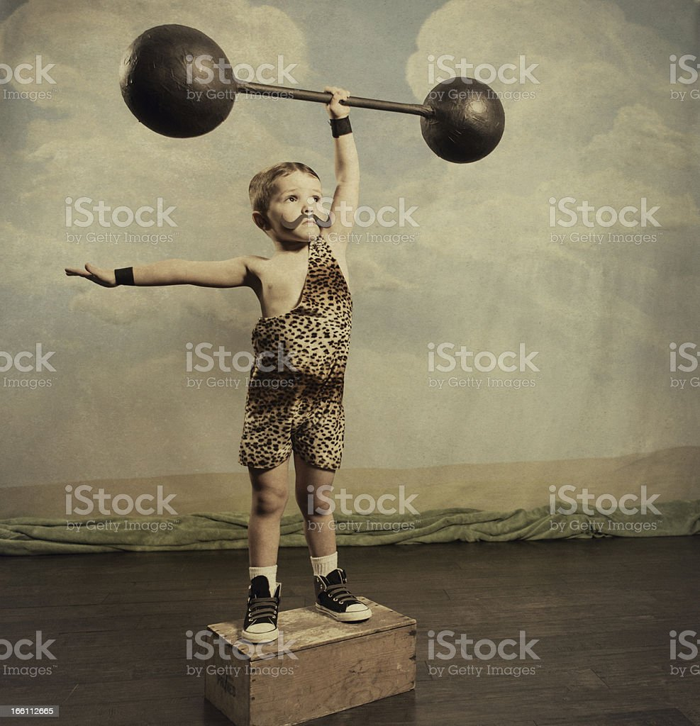 Strongman stock photo