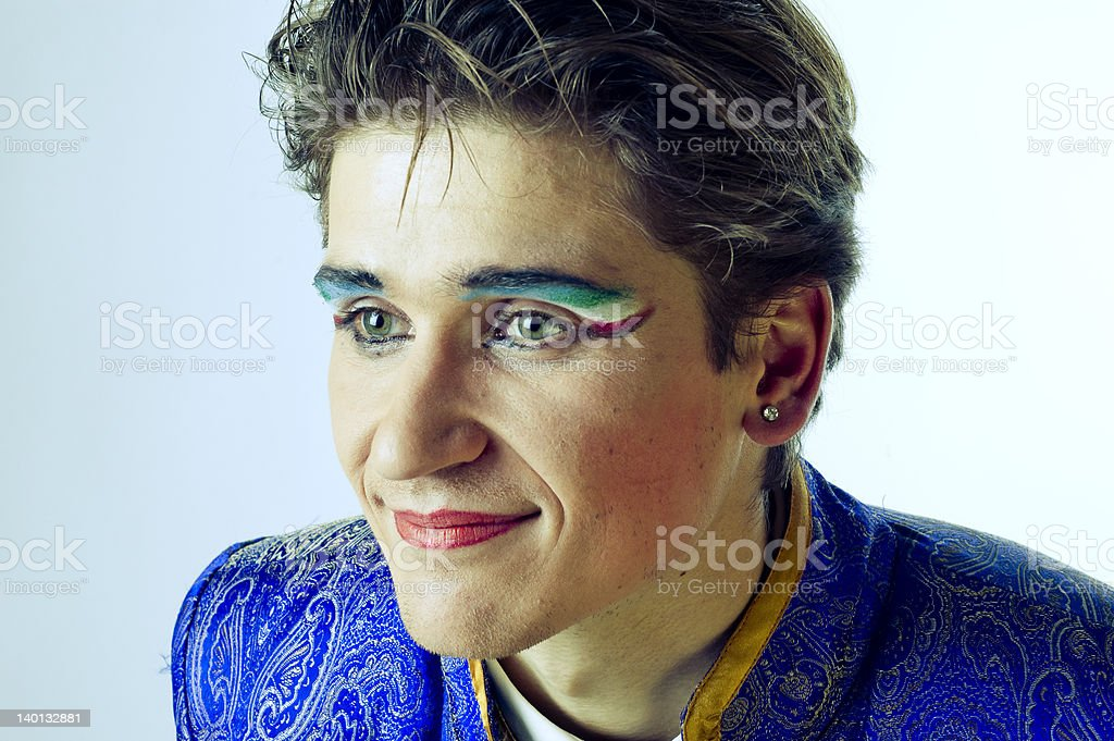 strong-willed person stock photo