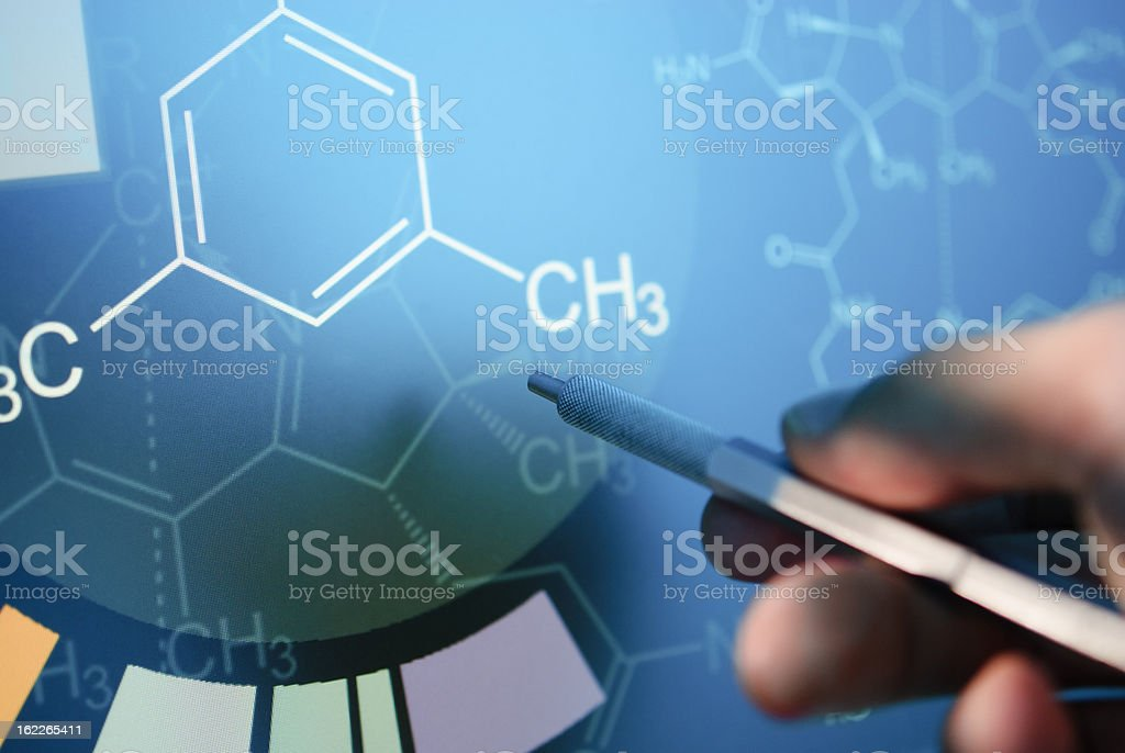 Structural Formula royalty-free stock photo