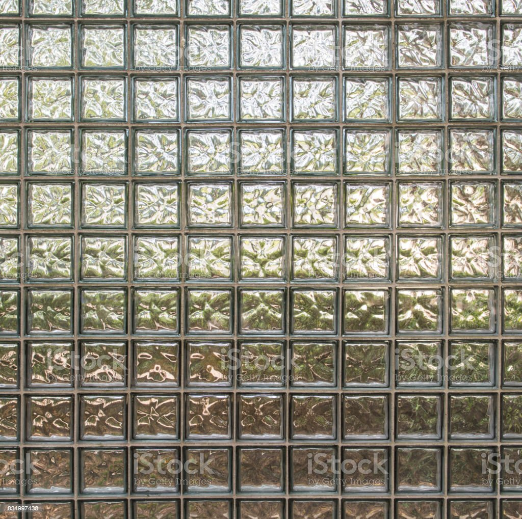 Structural modular glass wall stock photo