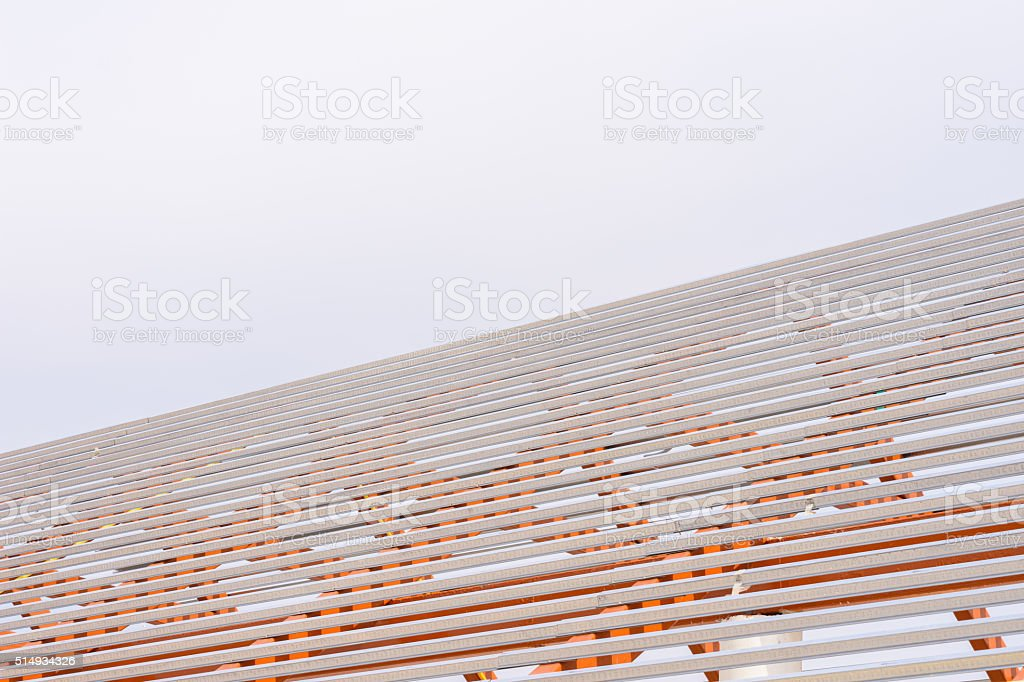 structural steel beam stock photo