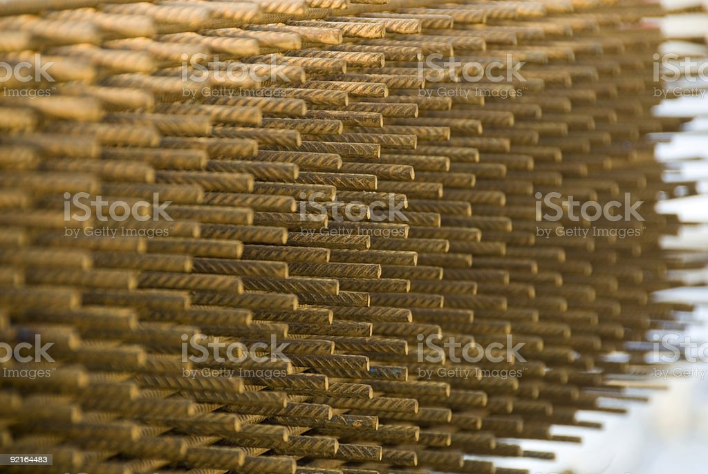 Structural steel royalty-free stock photo