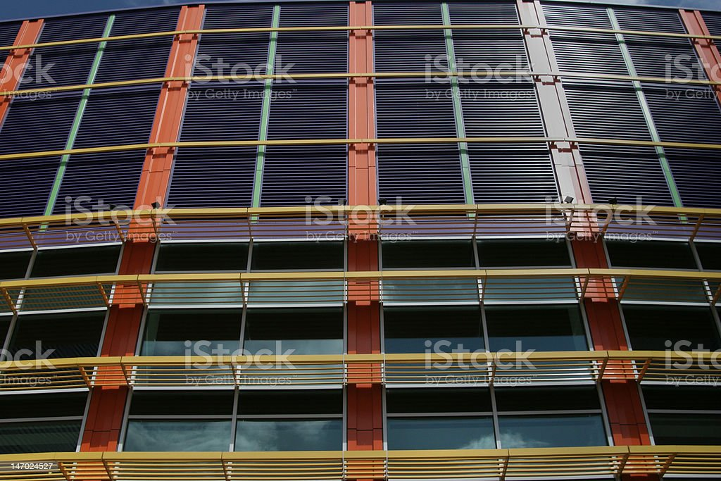 Structural wall royalty-free stock photo