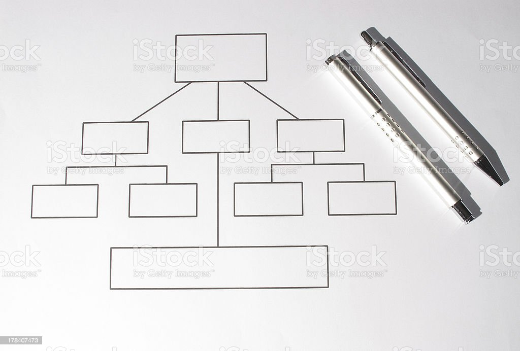structure chart royalty-free stock photo
