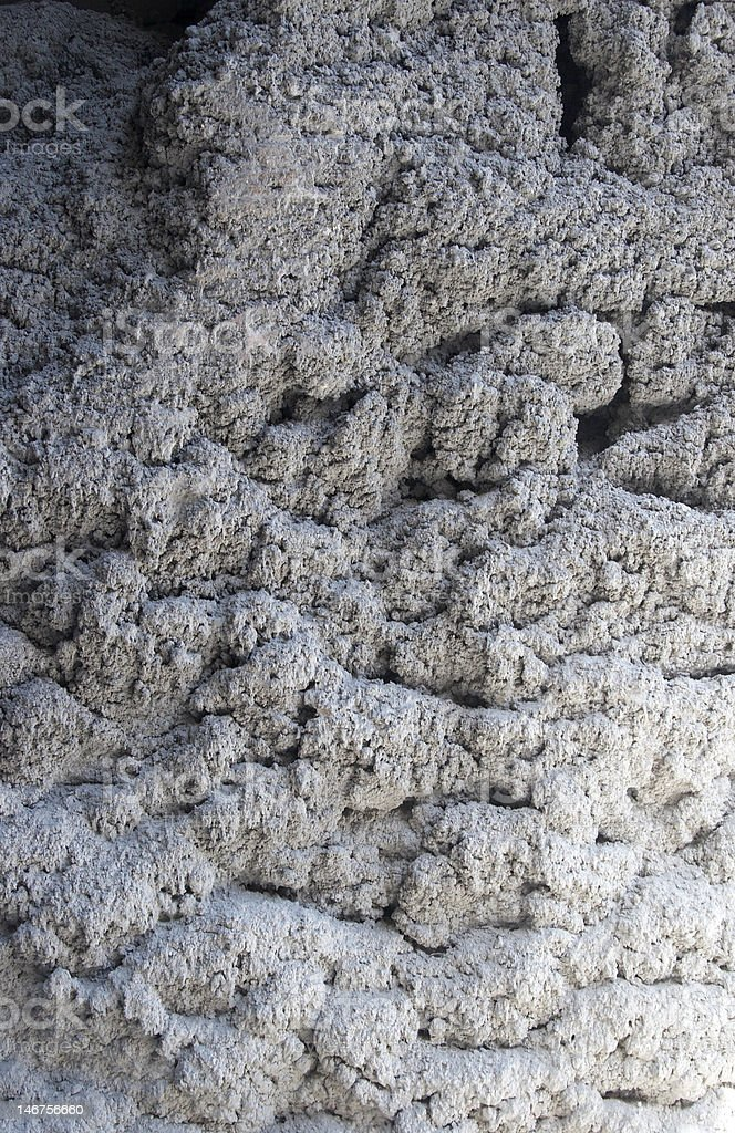 Structure of concrete, Formed from брызг at loading a ready-mix truck royalty-free stock photo