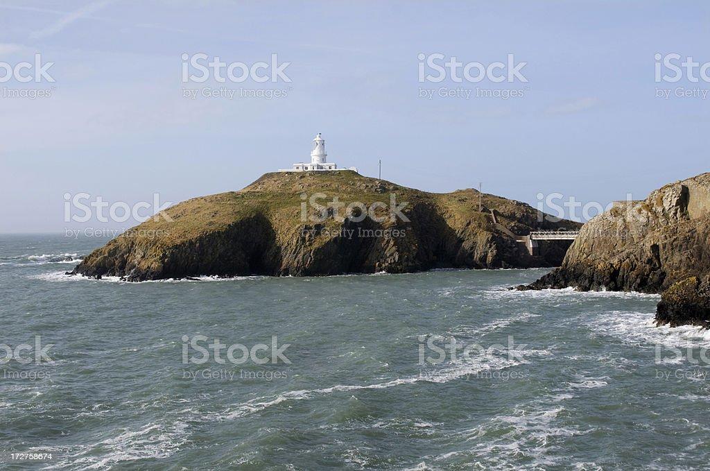 Strumble Head Lighthouse royalty-free stock photo