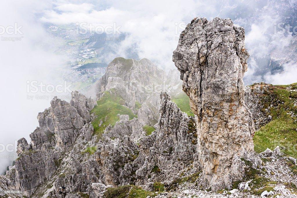 Stubai Alps, Elfer, Elferspitze stock photo