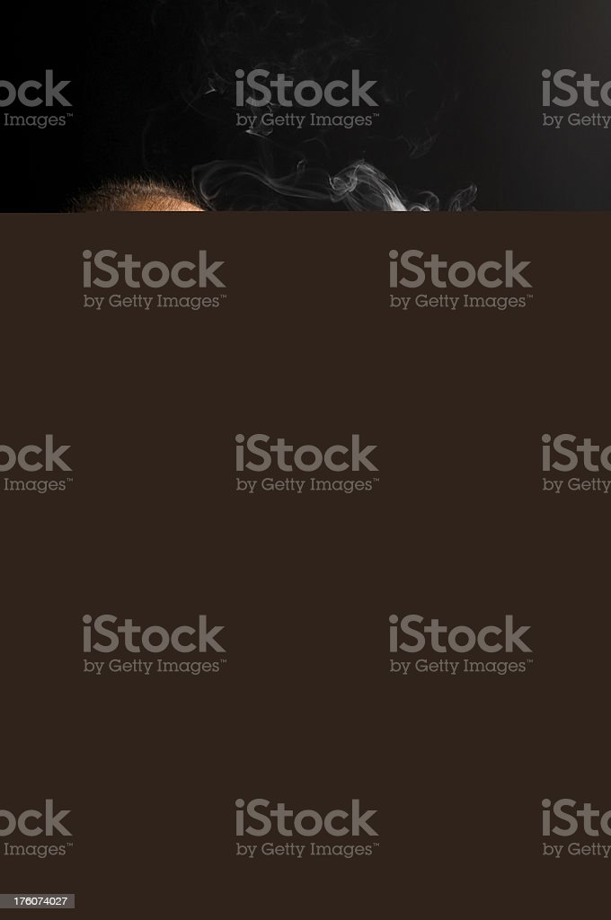 Stubborn determined teenager royalty-free stock photo