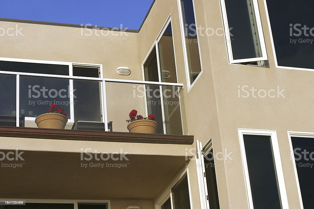 Stucco Rental royalty-free stock photo