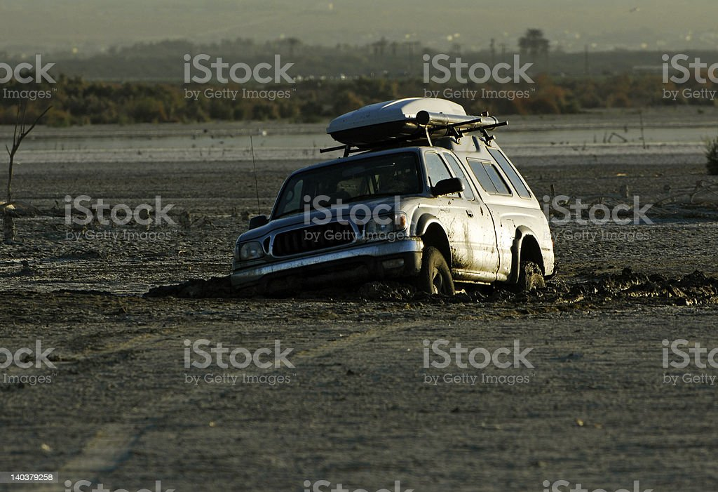 Stuck in the Mud royalty-free stock photo