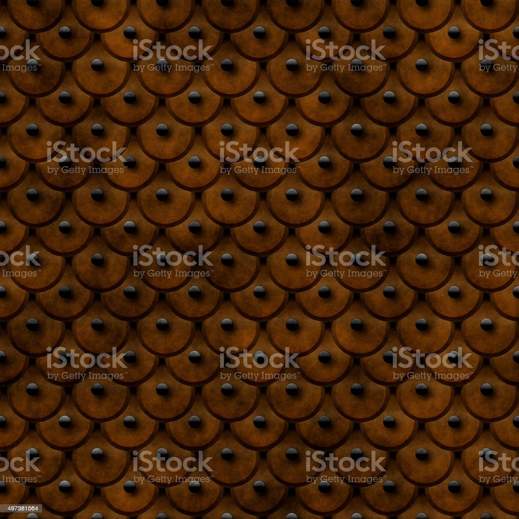 studded scale leather stock photo