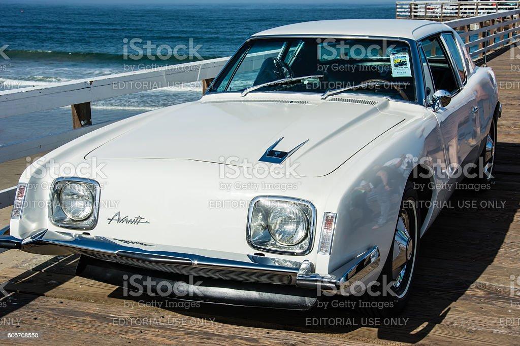 Studebaker Avanti stock photo