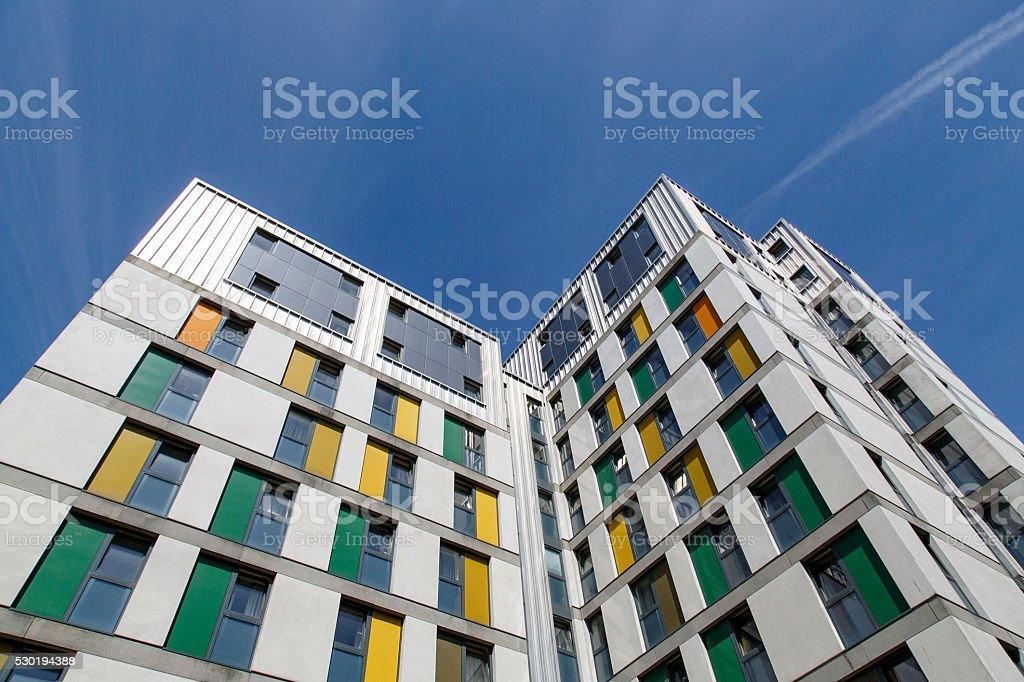 Student Accommodation - Swansea University stock photo