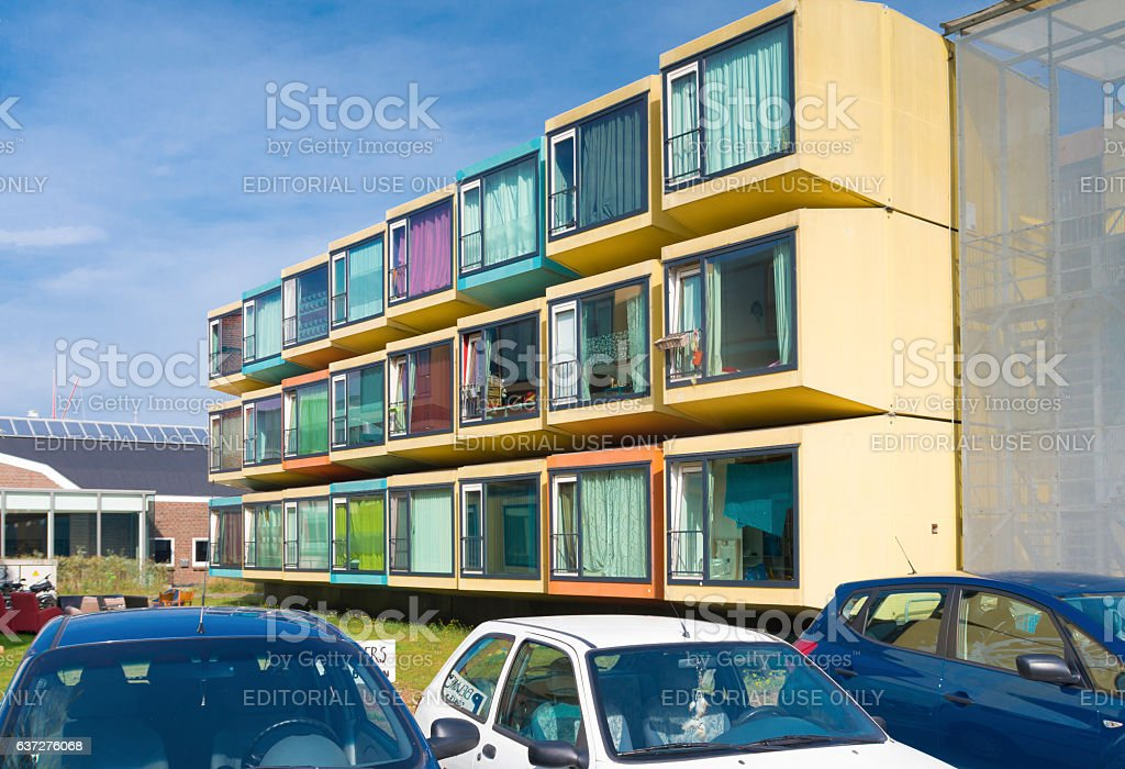 student apartments stock photo