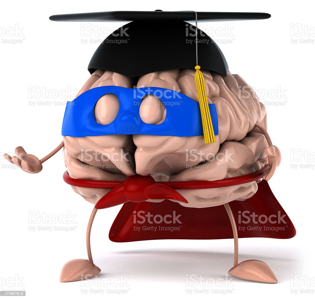 Student brain royalty-free stock photo