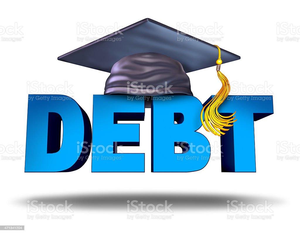 Student Debt stock photo