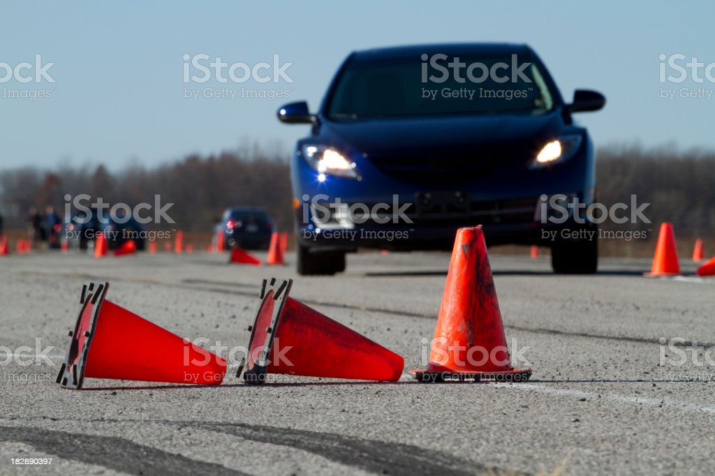 Student Driver royalty-free stock photo