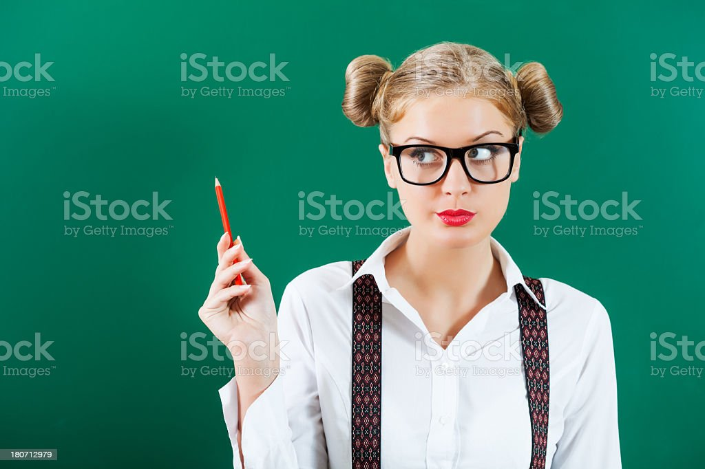 Student girl royalty-free stock photo