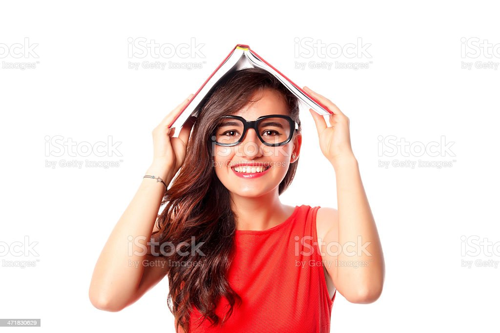Student girl royalty-free stock photo