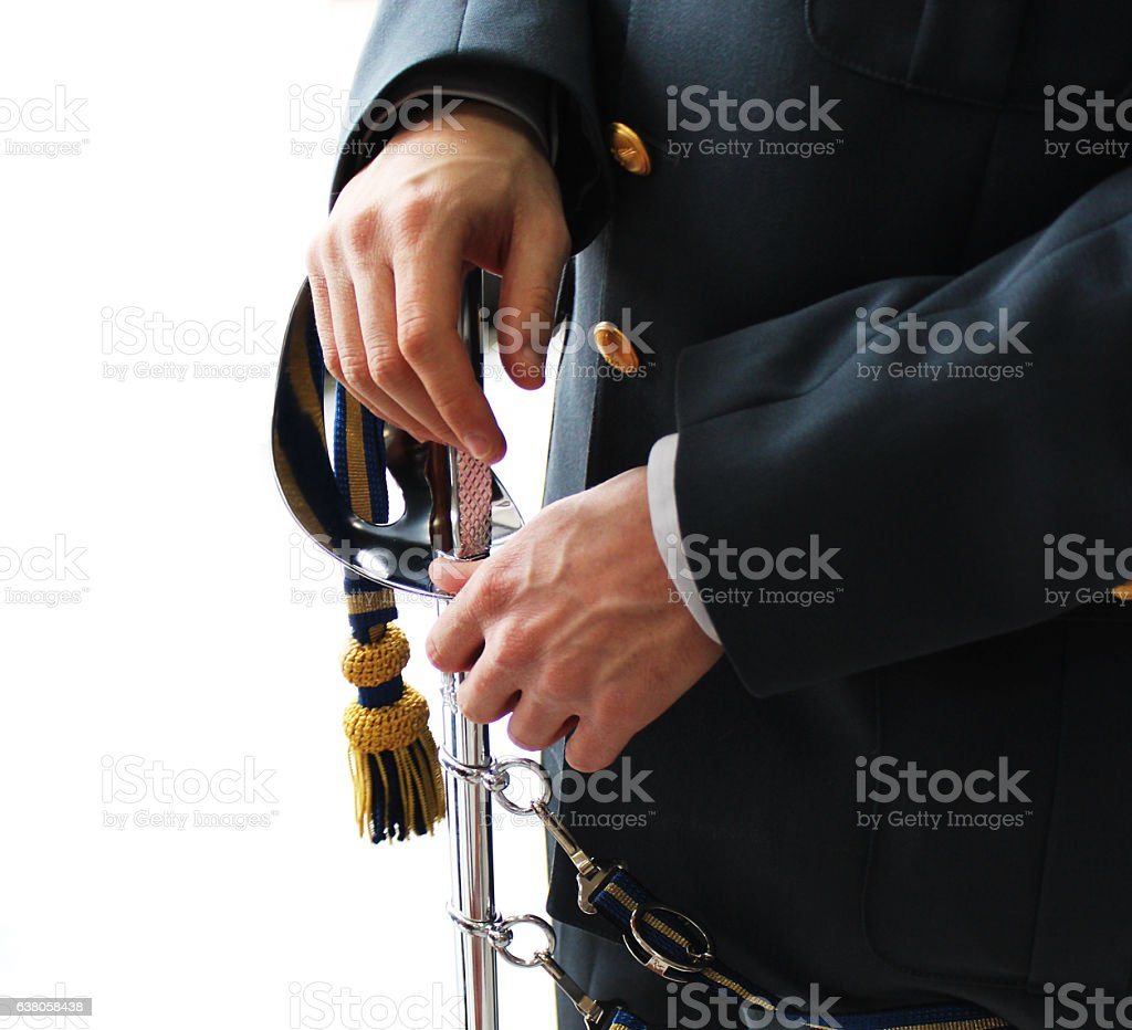 student inspector of financial police stock photo