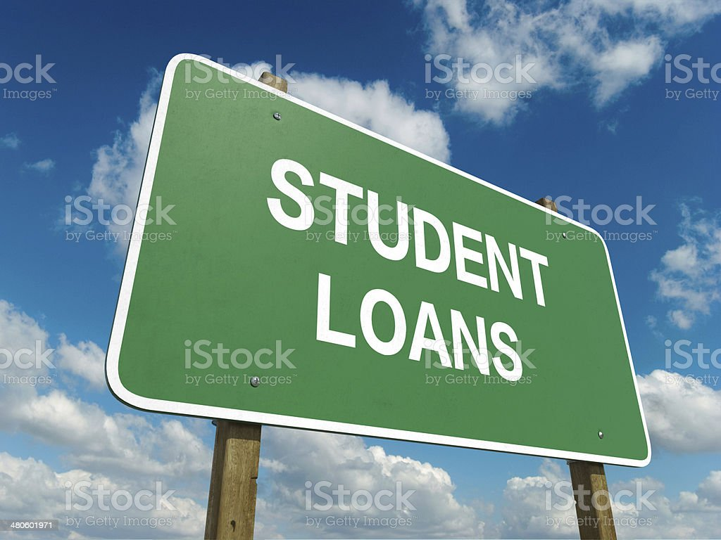 student loan stock photo