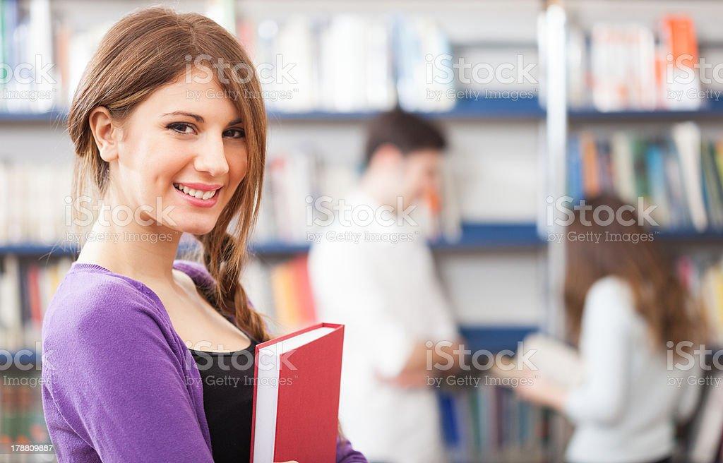 Student portrait royalty-free stock photo