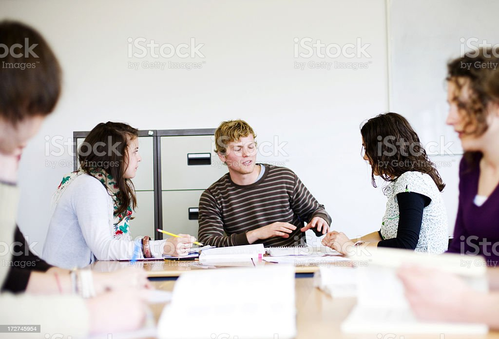 Student project royalty-free stock photo