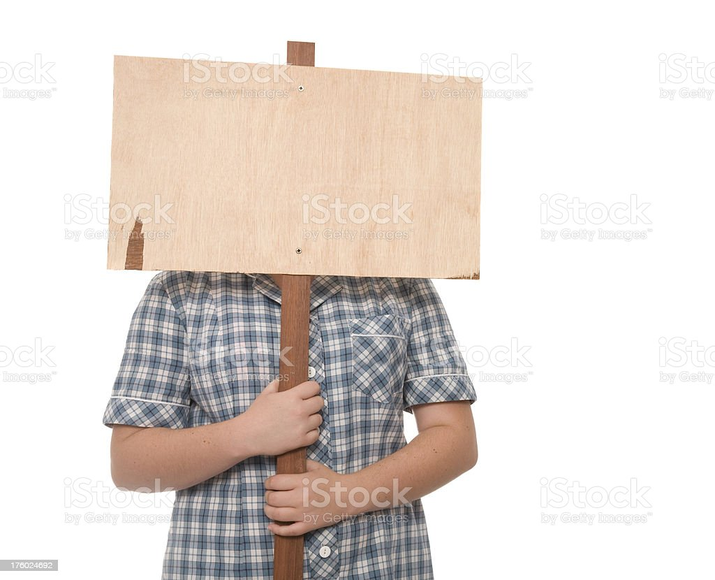 Student Protest royalty-free stock photo