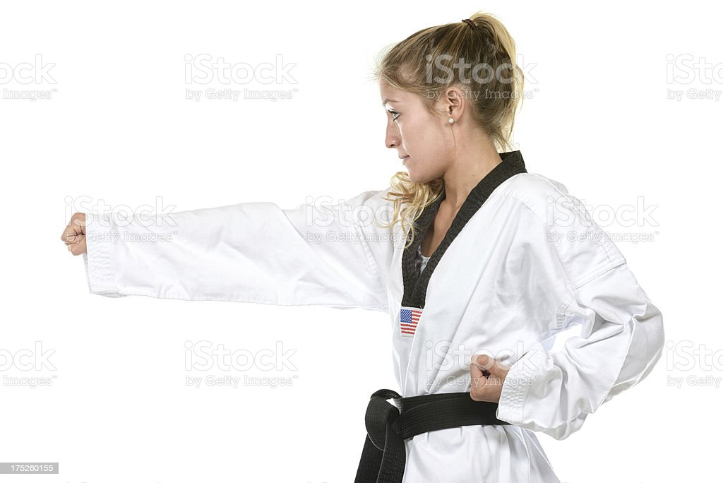 Student Punch royalty-free stock photo