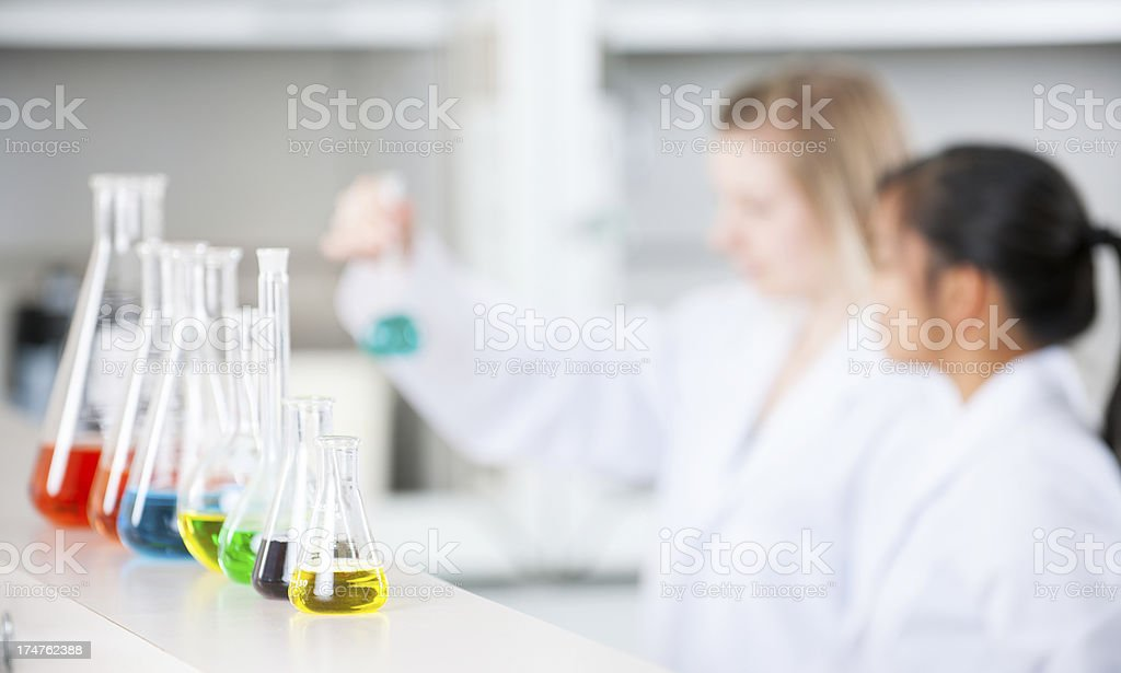 Student research stock photo