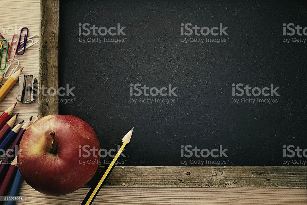 Student supplies stock photo