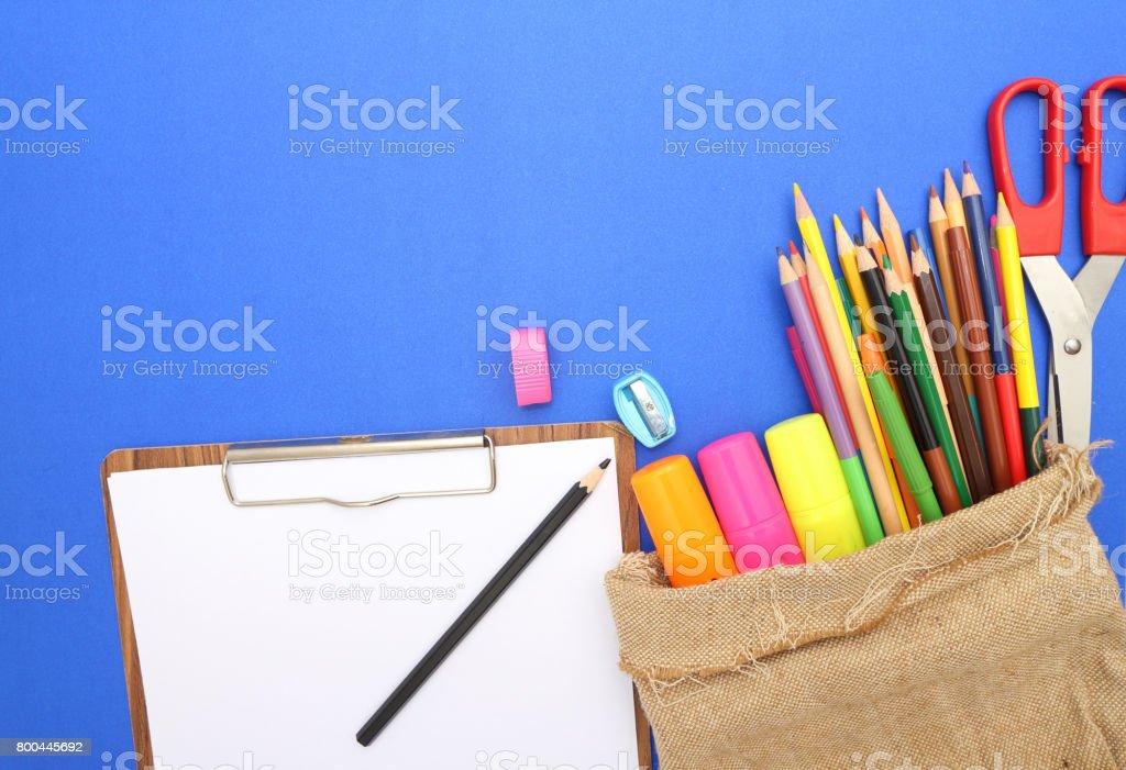 student supplies stock photo