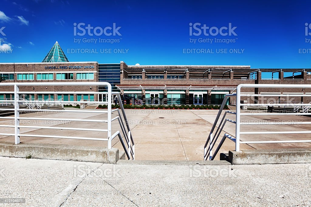Student Union, Chicago State University, Roseland stock photo