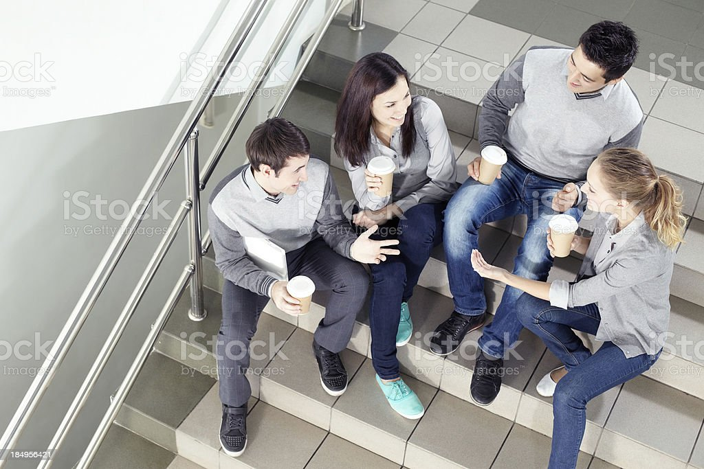 Students life royalty-free stock photo