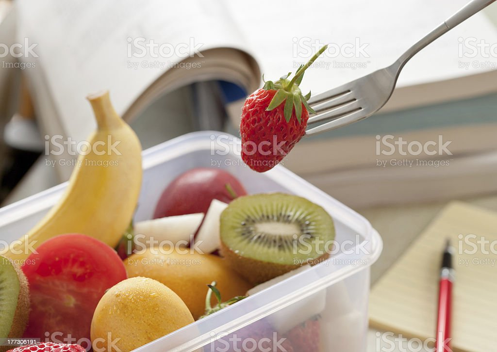 Students supplement vitamin royalty-free stock photo