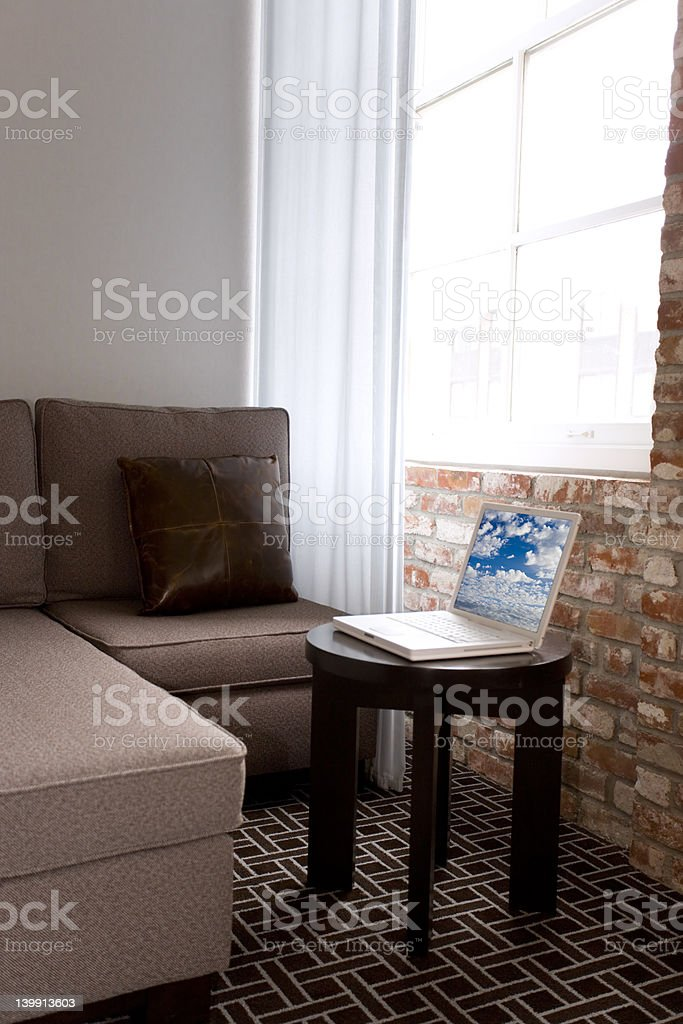 Studio Apartment royalty-free stock photo