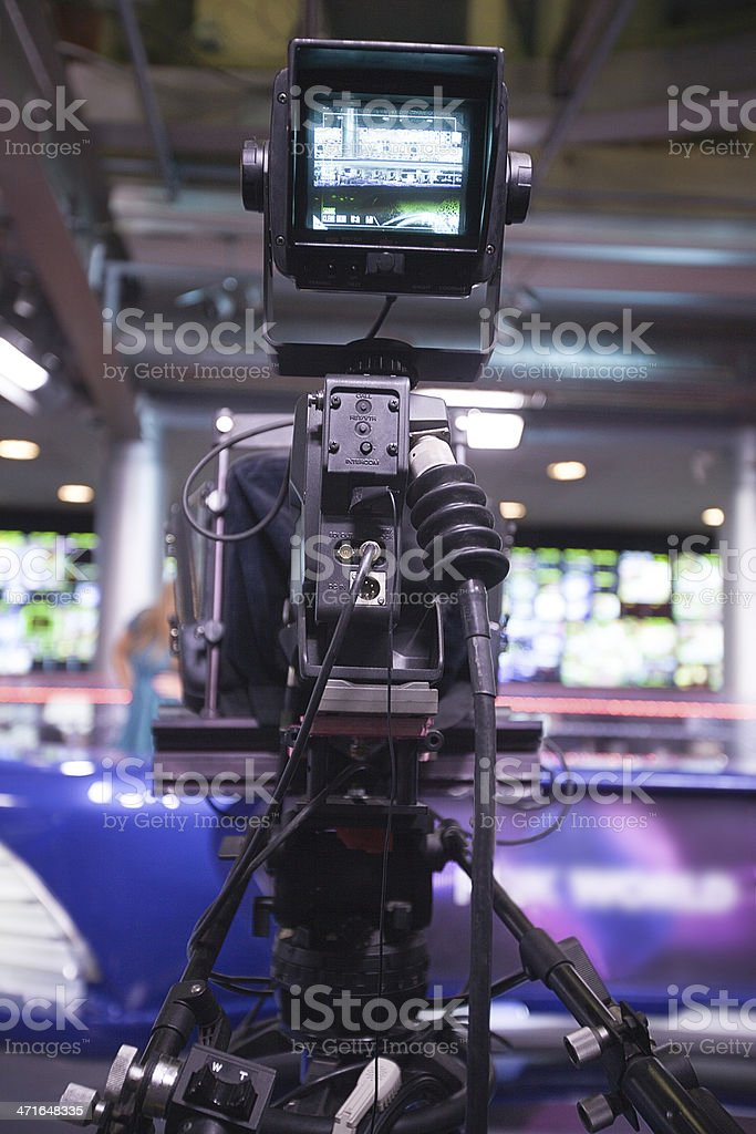 Studio Camera royalty-free stock photo