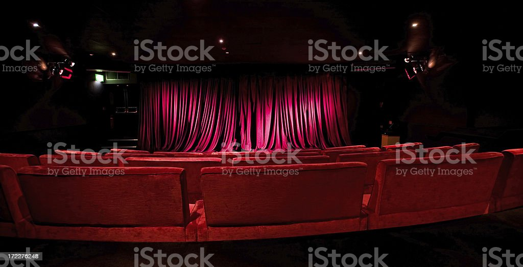 studio cinema stock photo